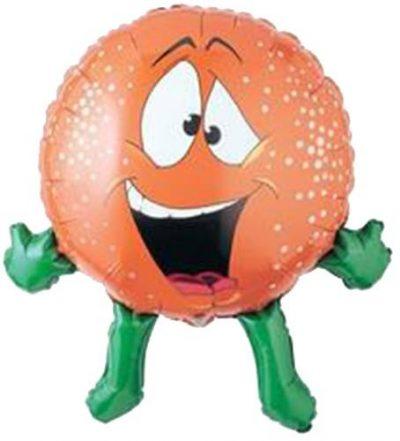 Μπαλόνι Πορτοκάλι με χέρια και πόδια