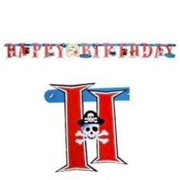 Μπάνερ πειρατές Happy Birthday 1,85μ