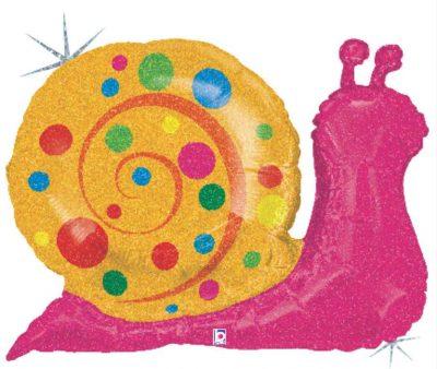 Μπαλόνι γλυκό Σαλιγκάρι που ιριδίζει