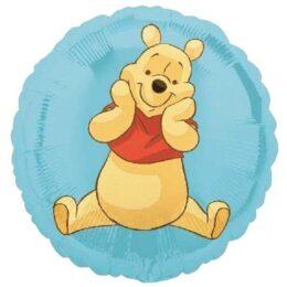 Μπαλόνι Winnie the pooh γαλάζιο 45 εκ