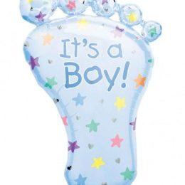 Μπαλόνι γέννησης Πατούσα Its a Boy 81 εκ