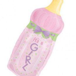 Μπαλόνι γέννησης Μπιμπερό It's a Girl 78 εκ