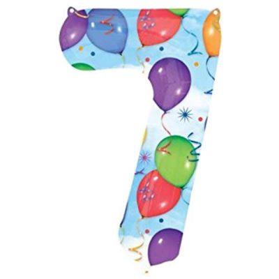 Μπαλόνι 86 εκ Αριθμός 7 balloons