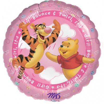 Μπαλόνι Winnie the Pooh 'Its a Girl' 45 εκ