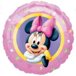 Μπαλόνι Minnie Mouse ροζ 45 εκ