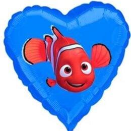 Μπαλόνι Καρδιά Nemo 45 εκ