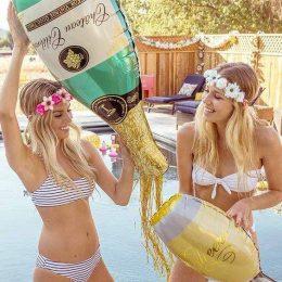 Μπαλόνι μπουκάλι σαμπάνιας 91 εκ