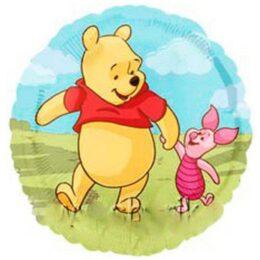 Μπαλόνι Winnie & γουρουνάκι 45 εκ