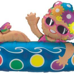 Μπαλόνι Κορίτσι που κολυμπάει 91 εκ
