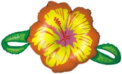 Μπαλόνι Κίτρινο λουλούδι ιβίσκος