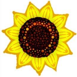 Μπαλόνι λουλούδι Ηλιοτρόπιο