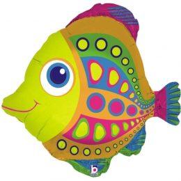 Μπαλόνι πολύχρωμο ψαράκι 68 εκ