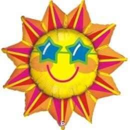 Μπαλόνι Ήλιος με γυαλιά106 εκ