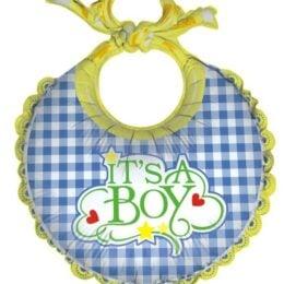 Μπαλόνι γέννησης Σαλιάρα Its a Boy 68 εκ