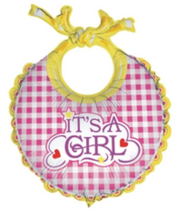 Μπαλόνι γέννησης Σαλιάρα Its a Girl 68 εκ