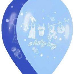 12″ Μπαλόνι Α baby boy καρότσι
