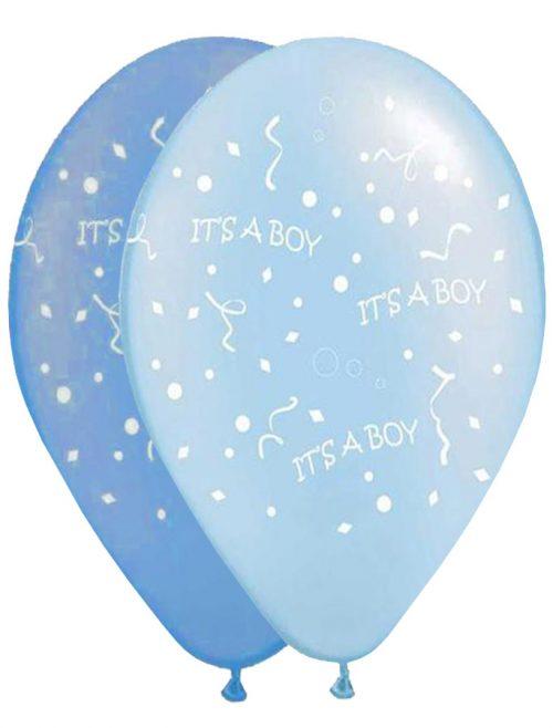 """12"""" Μπαλόνι τυπωμένο Its a boy"""