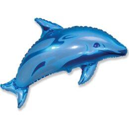 Μπαλόνι γαλάζιο Δελφίνι