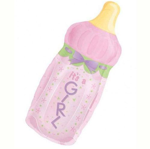 Μπαλόνι γέννησης Μπιμπερό It's a Girl