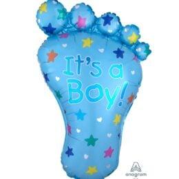 Μπαλόνι γέννησης Πατούσα Its a Boy