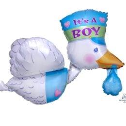 Μπαλόνι γέννησης Πελαργός It's a Boy 81 εκ