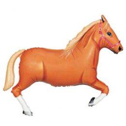 Μπαλόνι Καφέ Άλογο 109 εκ