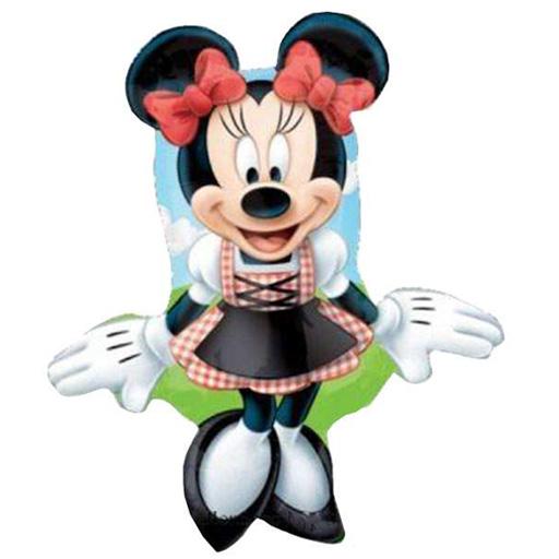 Μπαλόνι Minnie Mouse αγρότισσα
