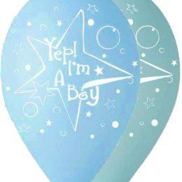 12″ Μπαλόνι Yep I'm a boy