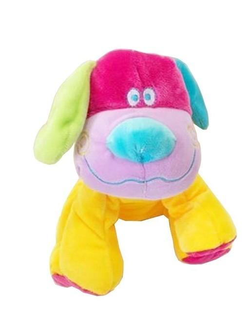 Λούτρινο πολύχρωμο Σκυλάκι
