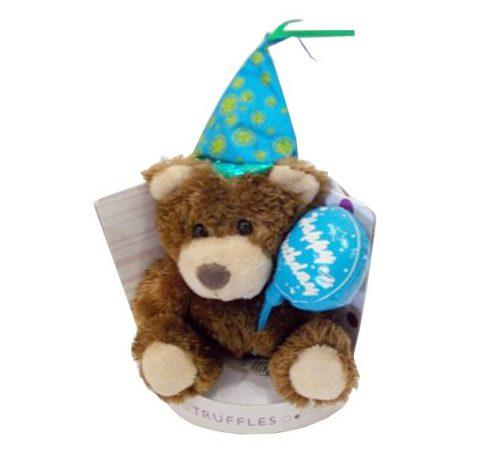 Καφέ αρκουδάκι Happy Birthday