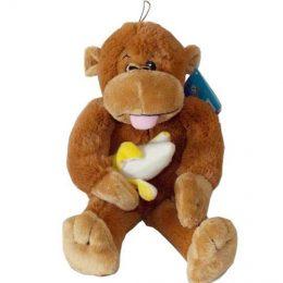 Μαϊμού με μπανάνα 2 χρώματα