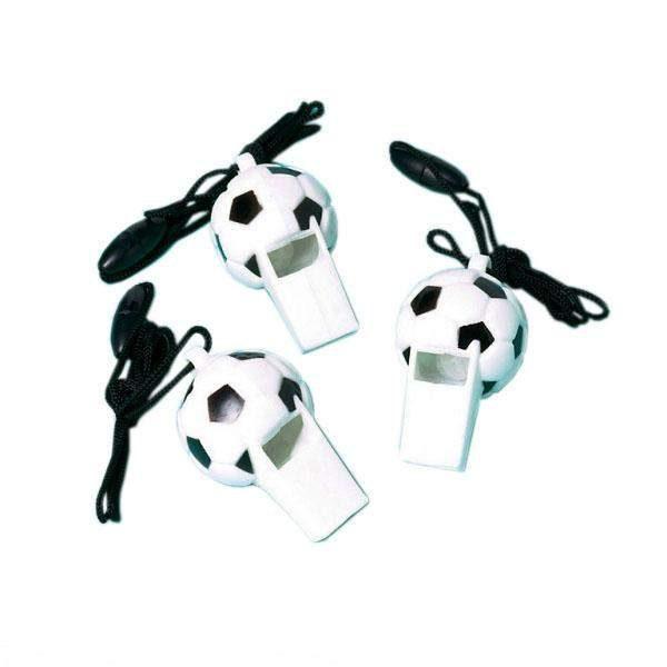 Σφυρίχτρες μπάλα ποδοσφαίρου (12 τεμ)