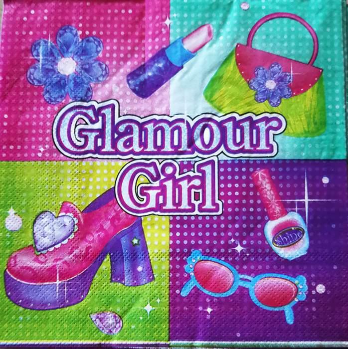 Χαρτοπετσέτες Glamour girl (16 τεμ)