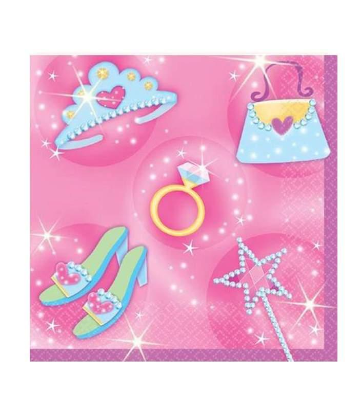 Χαρτοπετσέτες μικρές Princess (16 τεμ)