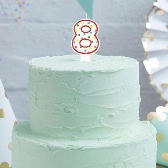 Κεράκι τούρτας Πουά 8