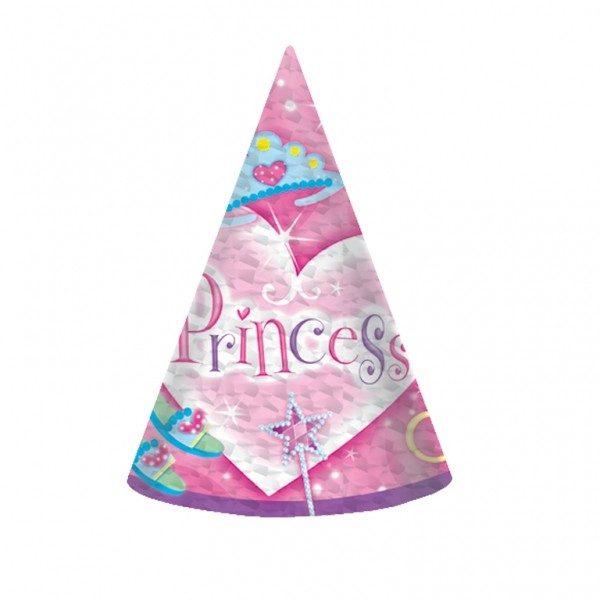 Καπελάκια χάρτινα Princess (8 τεμ)