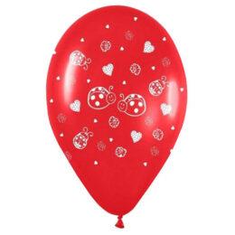 """12"""" Μπαλόνι τυπωμένο Πασχαλίτσες"""