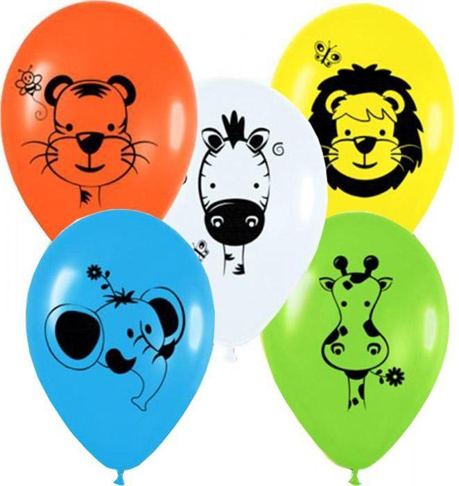 """12"""" Μπαλόνι άγρια Ζωάκια"""