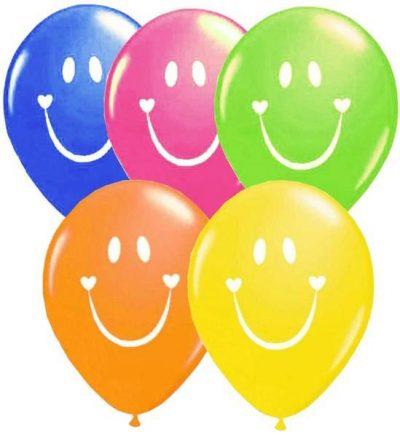 """12"""" Μπαλόνι Smile face"""