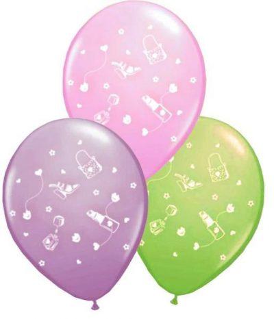 """12"""" Μπαλόνι τυπωμένο Glamour girl"""