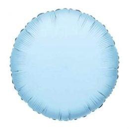 Μπαλόνι γαλάζιο στρογγυλό 18″