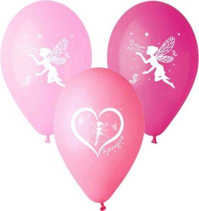 """12"""" Μπαλόνι τυπωμένο Νεράιδα"""