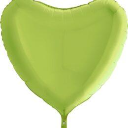 Μπαλόνι λαχανί καρδιά 36″