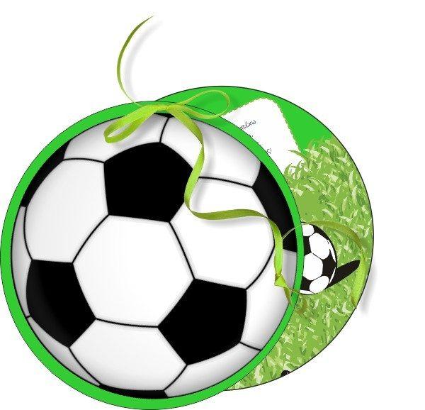 Προσκλητήριο βάπτισης ποδόσφαιρο διπλό κοπτικό