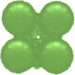 Μπαλόνι Λαχανί 4πλο για γιρλάντα 40 εκ