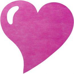 Σουπλά Καρδιά σε 4 χρώματα (50 τεμ)