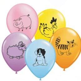 12″ Μπαλόνι κατοικίδια Ζωάκια