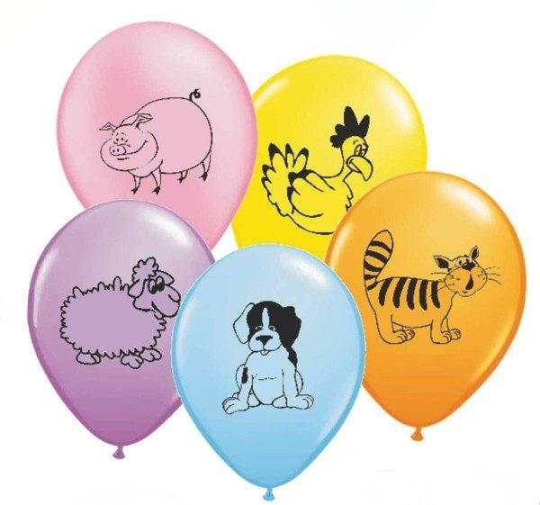 """12"""" Μπαλόνι κατοικίδια Ζωάκια"""