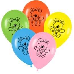 12″ Μπαλόνι τυπωμένο Αρκουδάκι
