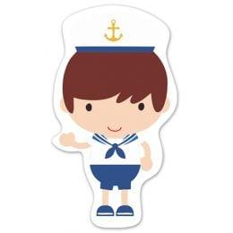 Διακοσμητική ξύλινη φιγούρα Ναυτικό
